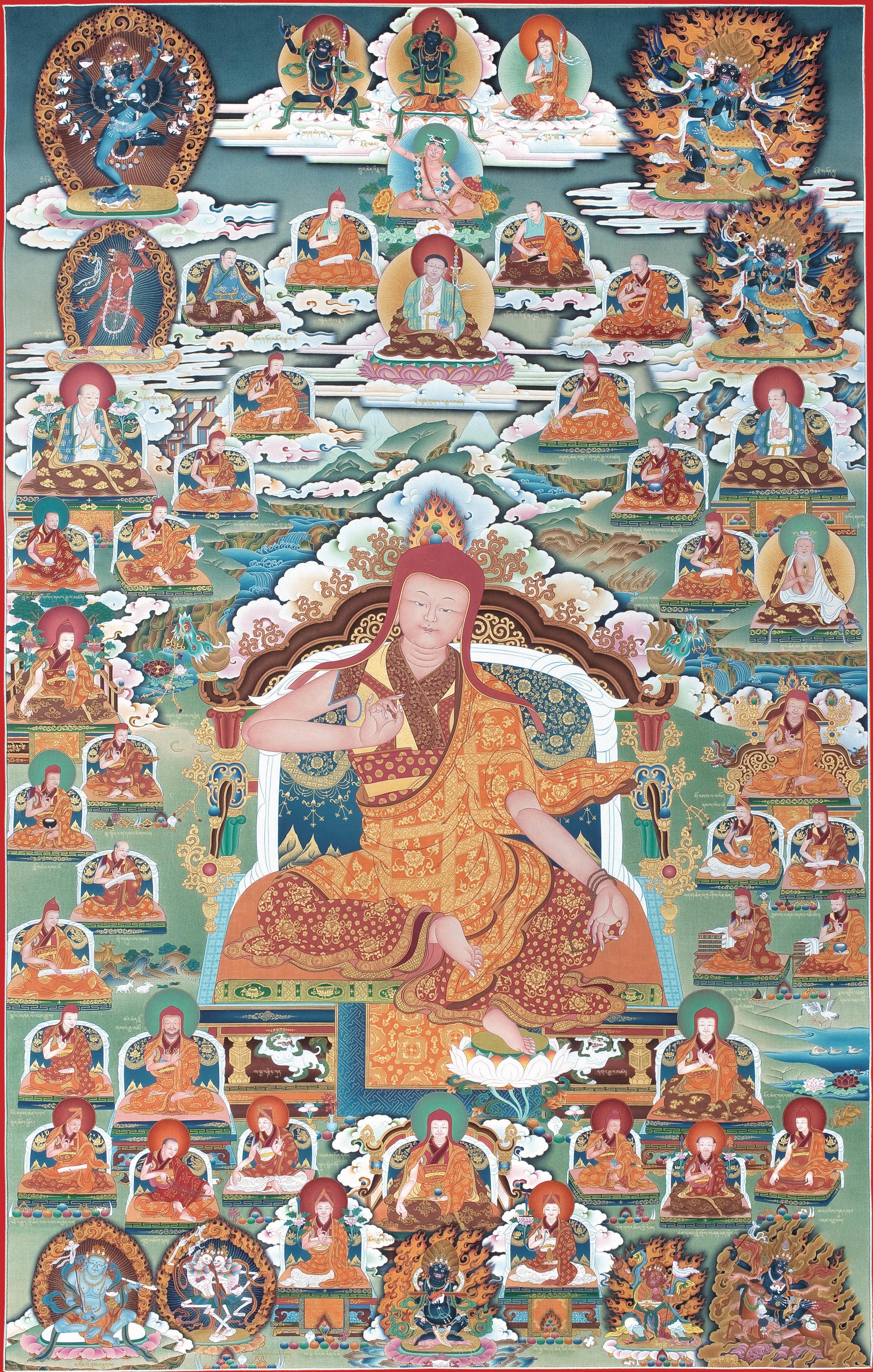 Lineage masters of the Sakya school of Tibetan Buddhism