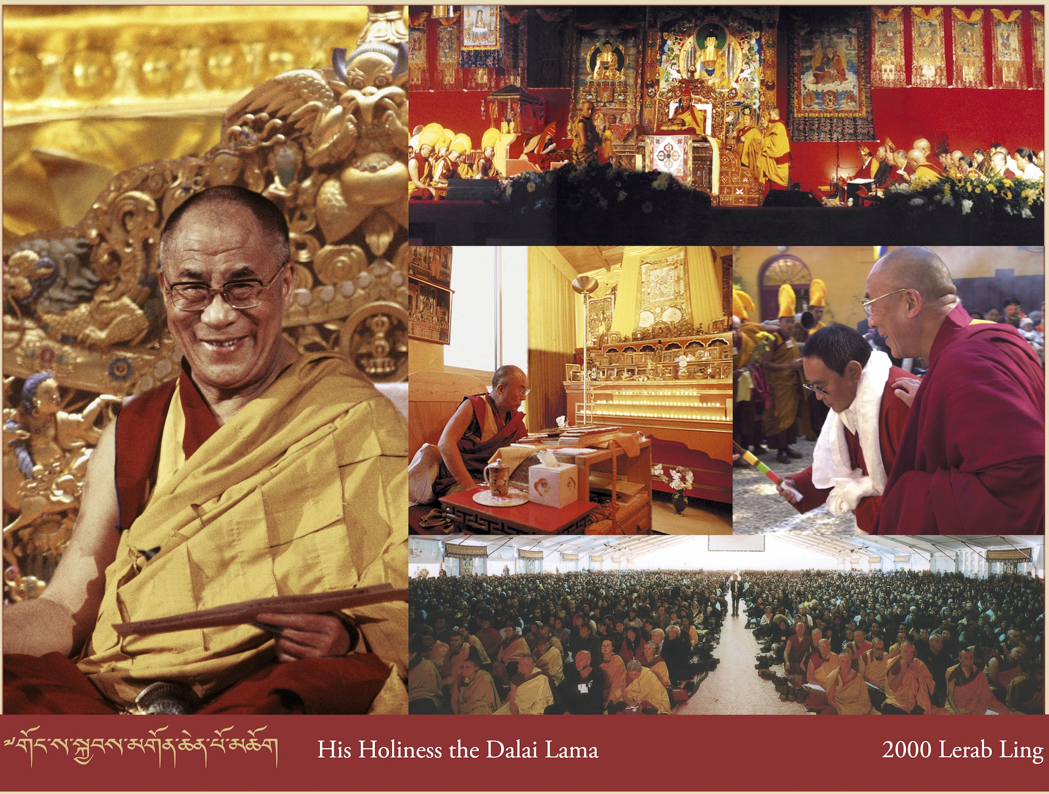 His Holiness the Dalai Lama, 2000 Lerab Ling