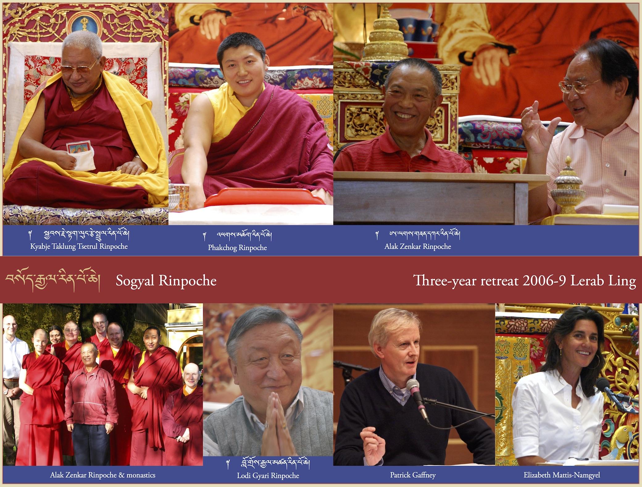 Three-year retreat, 2006-9 Lerab Ling (3)