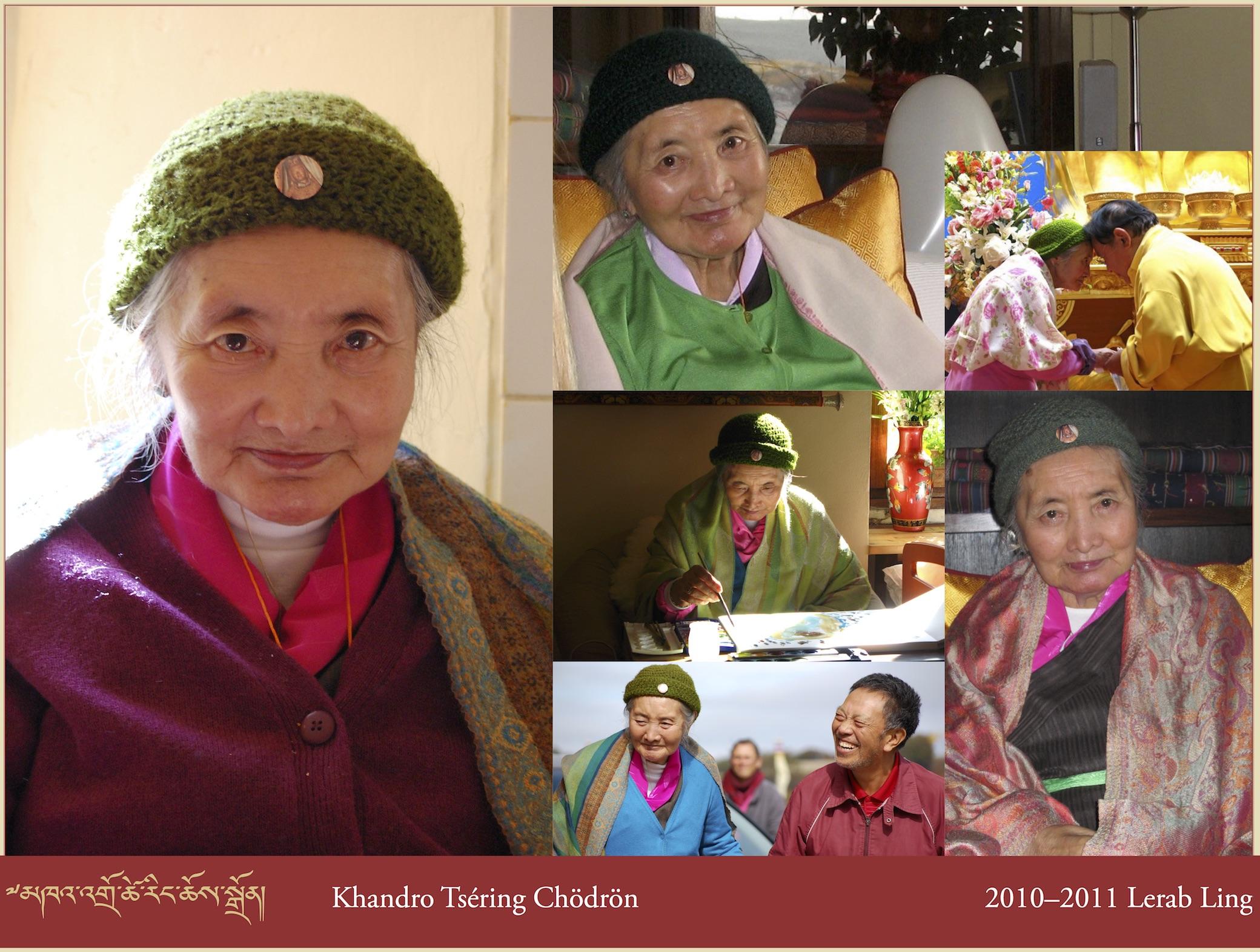 Khandro Tséring Chödrön, 2010–2011 Lerab Ling