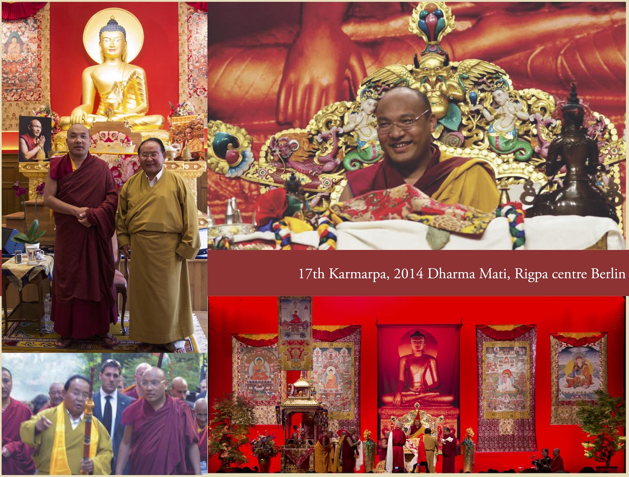 17th Karmarpa, 2014 Dharma Mati, Rigpa centre Berlin