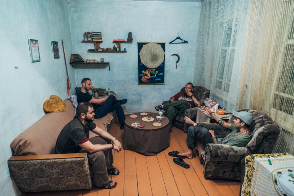 Ah-Puur Kam, Alexey, Karagay and Ilya