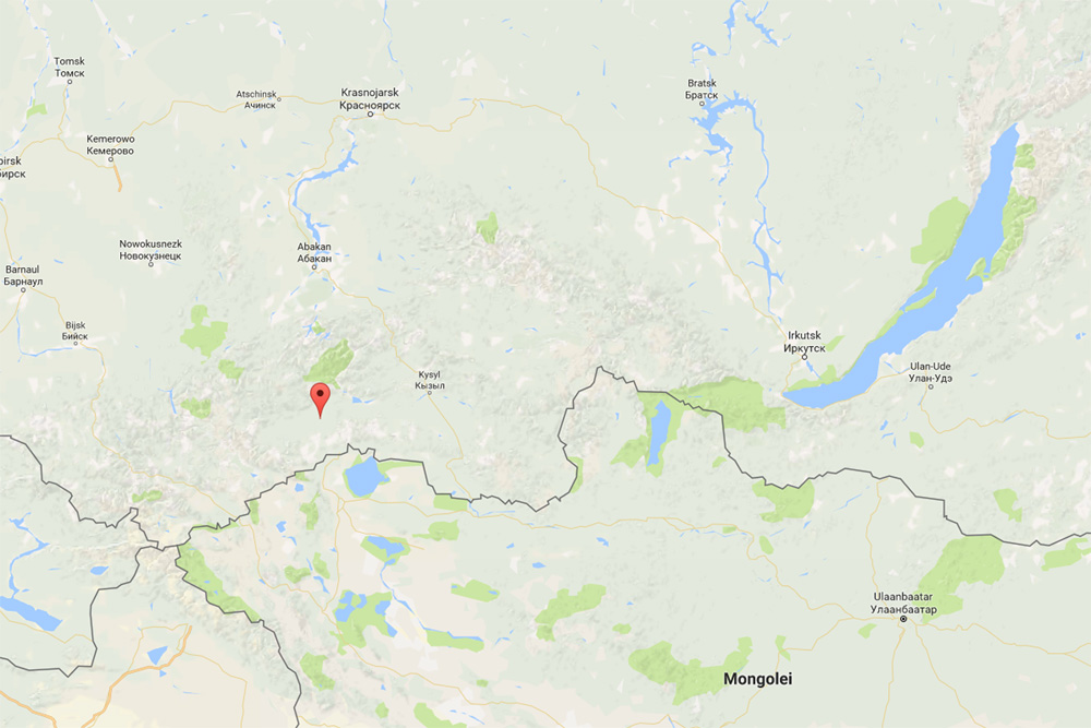 Chadan, Republic of Tuva (google maps)