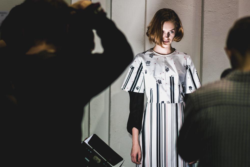 Ukrainian Fashion Week - Model Mira March