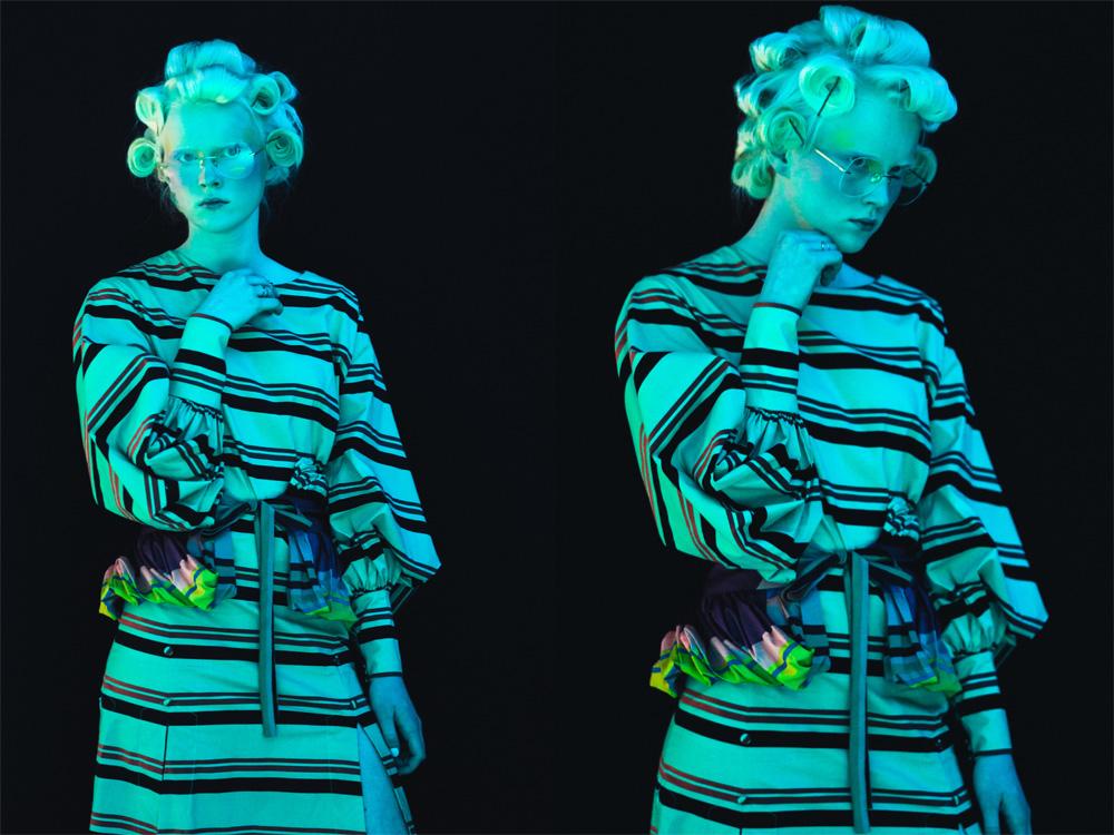 Ukrainian Fashion Week - designer YANA CHERVINSKA