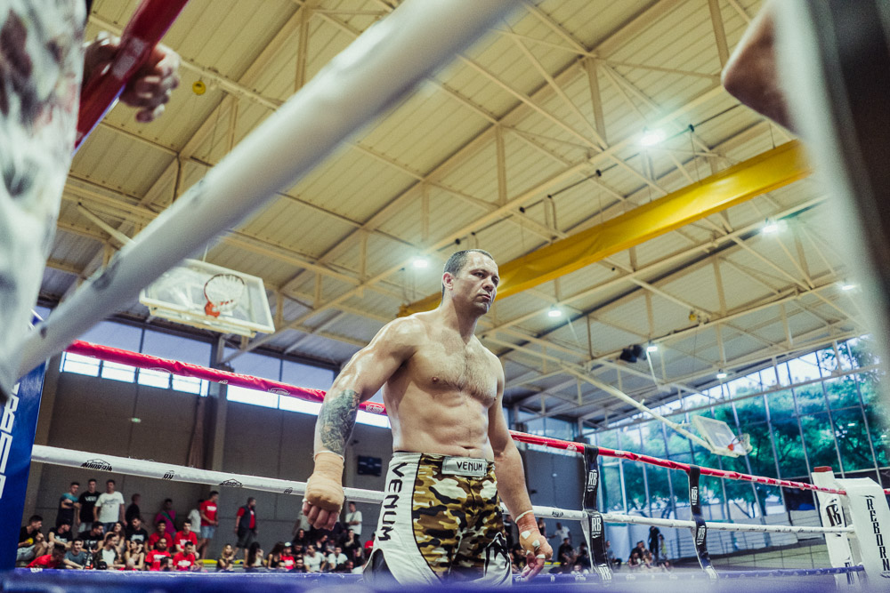 Igor Vasiliev looks calm. His eyes show no fear.