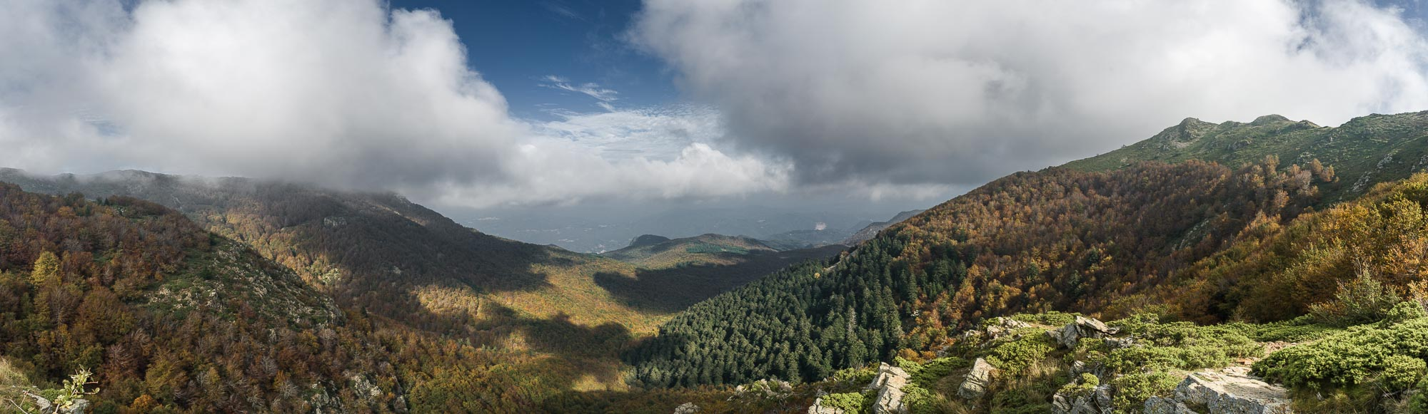 Montseny Panorama (click to enlarge)