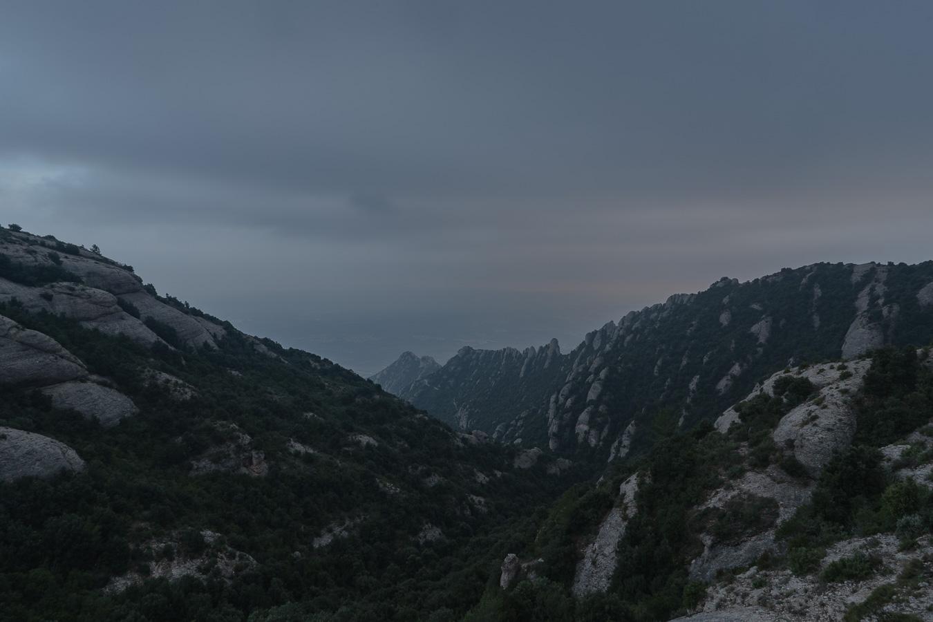 Montserrat at the dusk
