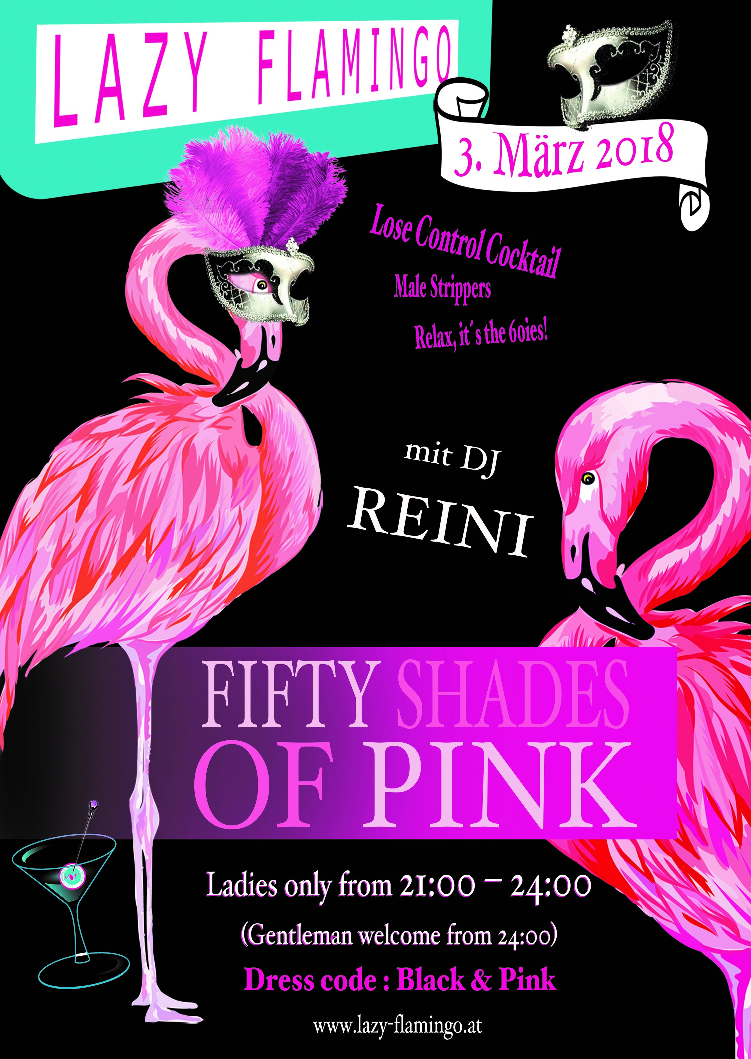 Fifty Shades of Pink! Ladies only bis 24:00 Uhr!