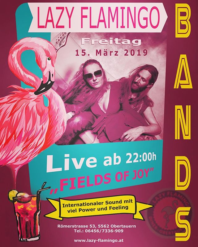HEUTE das Finale von 'Battle of the Bands' ... DIE KULTBAND 'Fields of Joy' LIVE! Ein MUSS, versprochen!  #obertauern #loveobertauern #lazyflamingoobertauern #obertauern_com #fieldsofjoy #liveband #burgerrestaurant