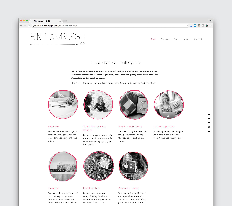 Website -  www.rin-hamburgh.co.uk