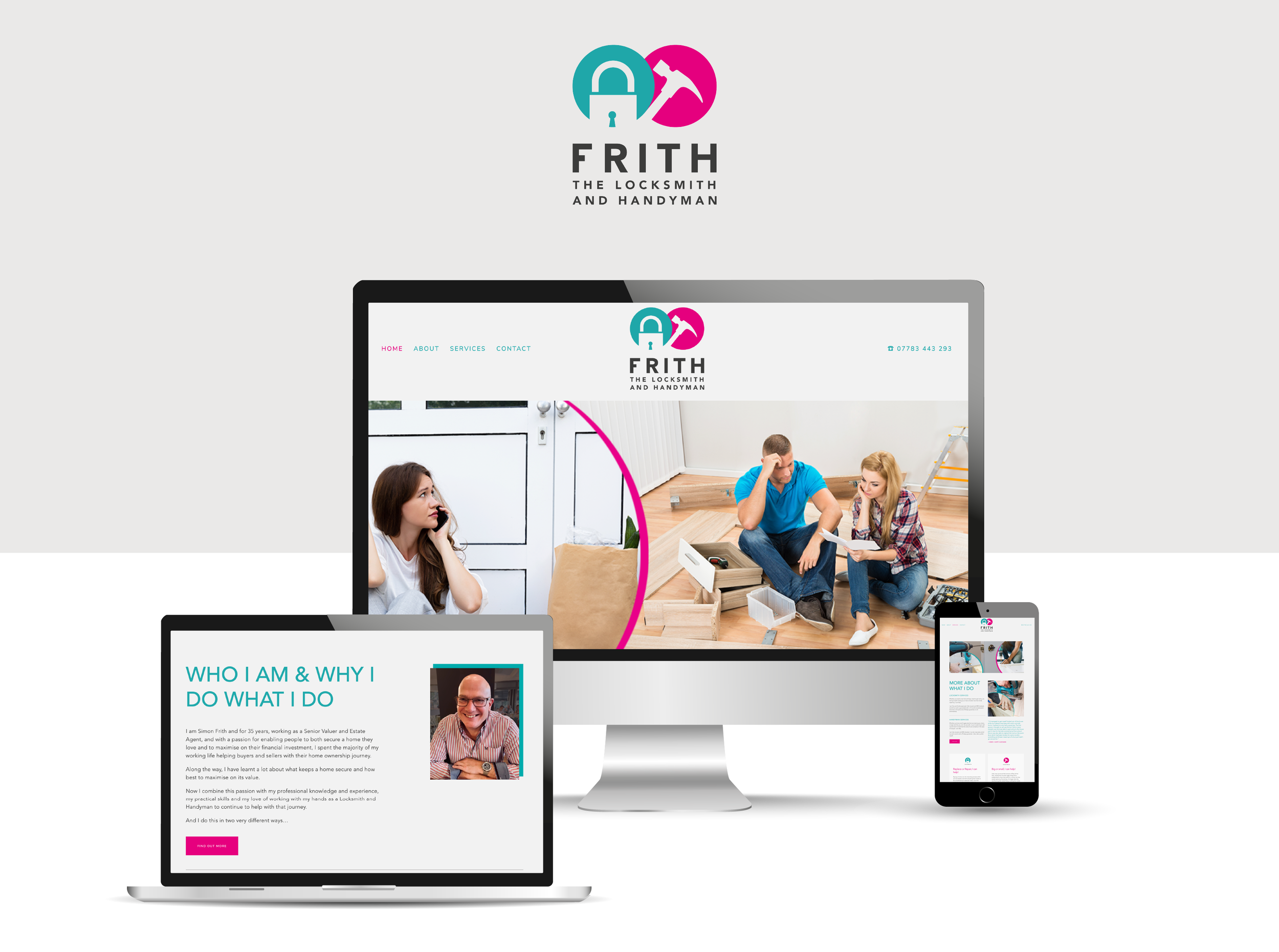 SEE THE WEBSITE IN ACTION - Click below to see how this template becomes a personalised website