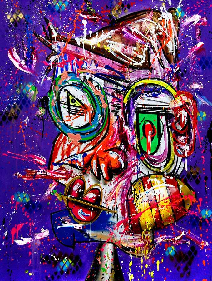 TORETTE DEL MAR mixed media on canvas 2018 · 120 x 90 cm   Preis auf Anfrage