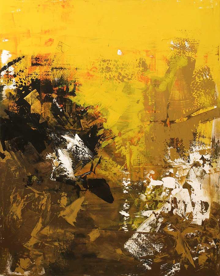 SÜD SEITE Acryl auf Leinwand 2018 · 80 x 100 cm   Preis auf Anfrage