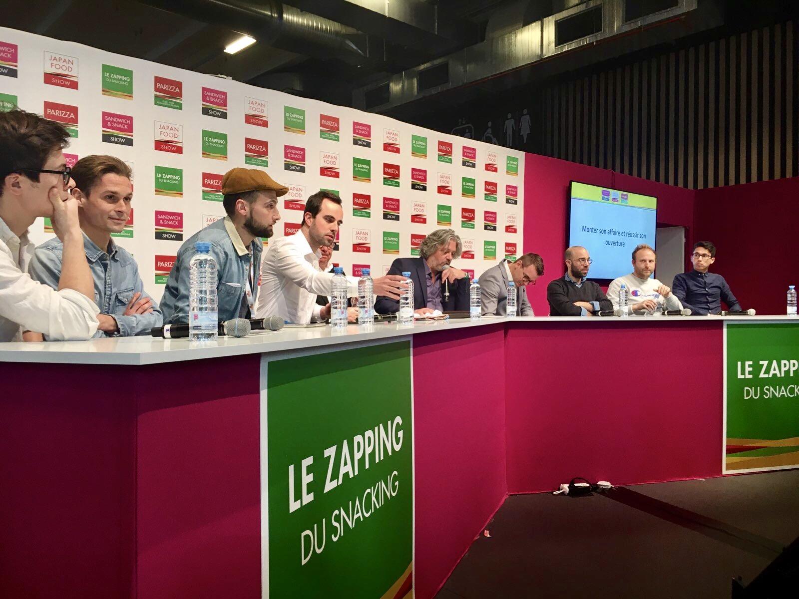 Conférence au Sandwich Snack Show à Paris