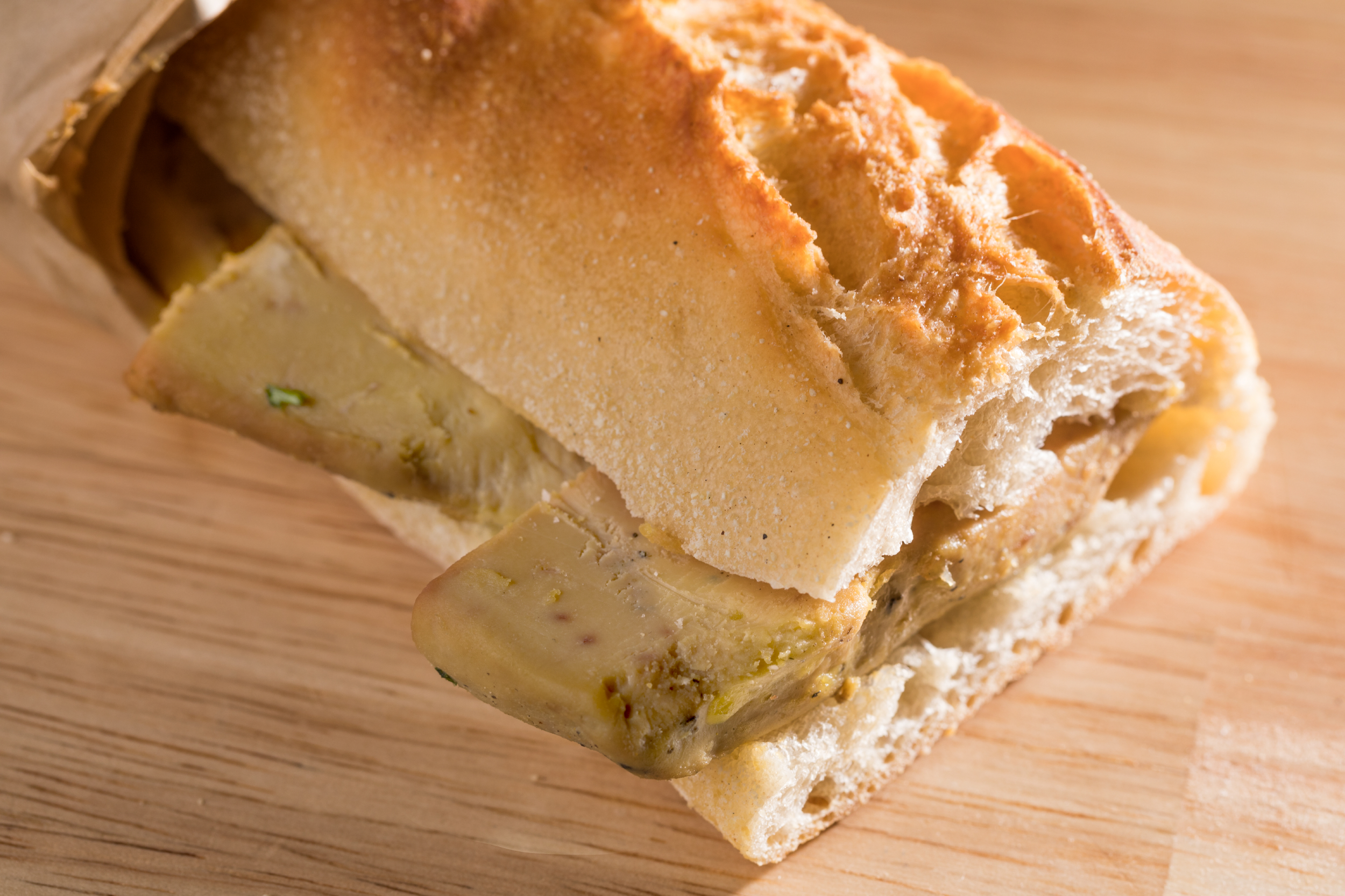 Sandwich au foie gras Canard Street