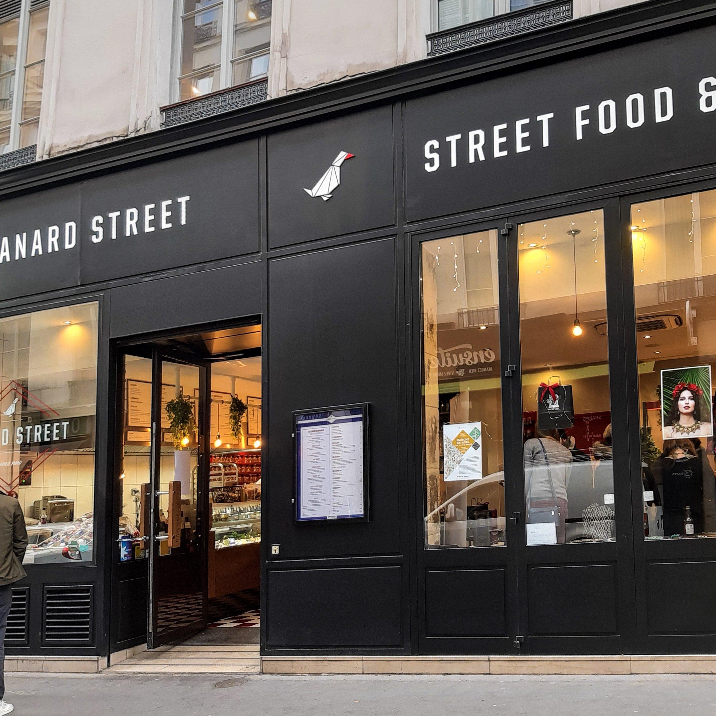 canard street Paris restaurant canard epicerie fine 2ème arrondissement