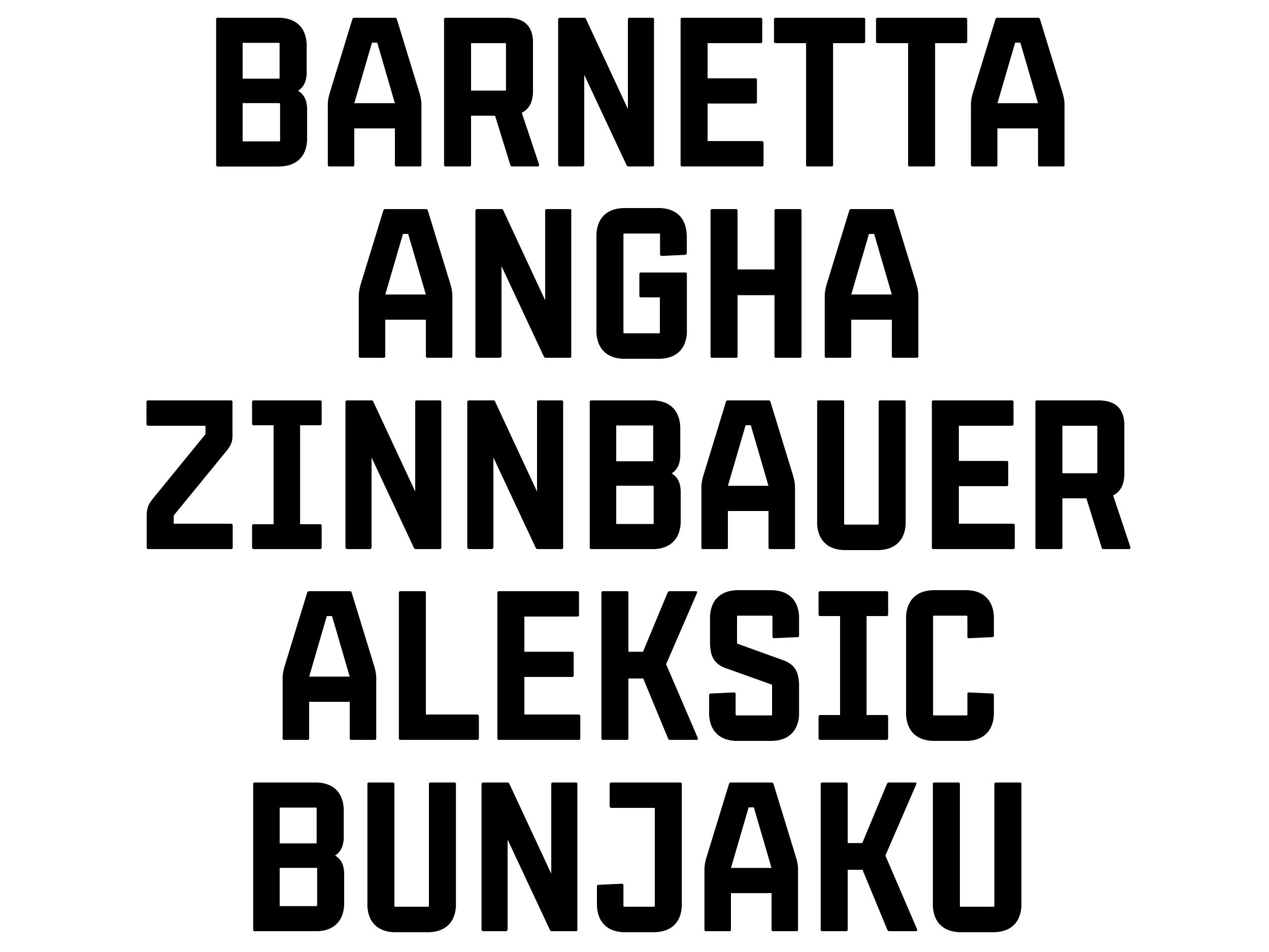 FCSG Gruenweiss Typeface