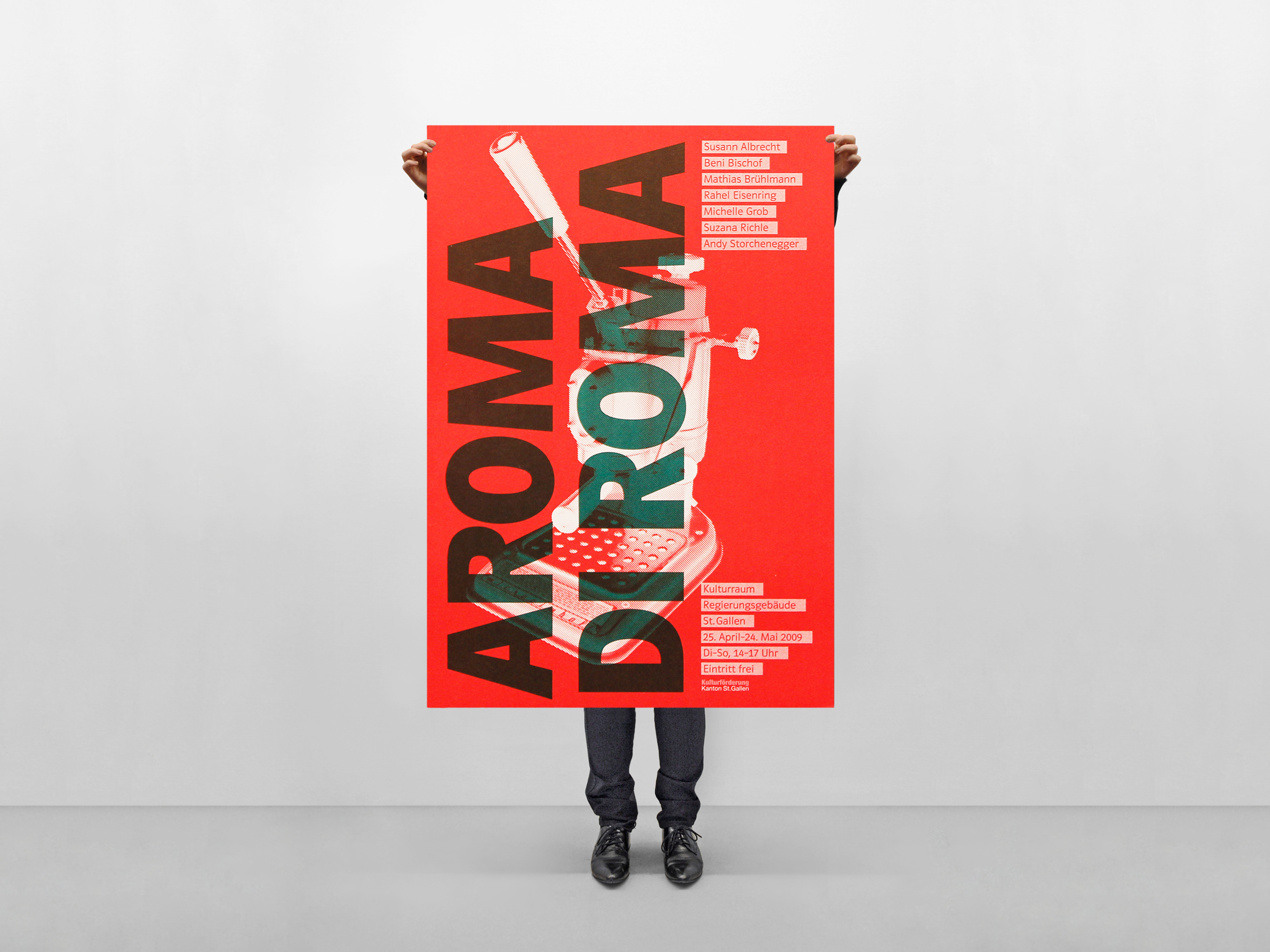 Aroma di Roma Poster