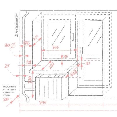 Снятие точных размеров для проектирования стола