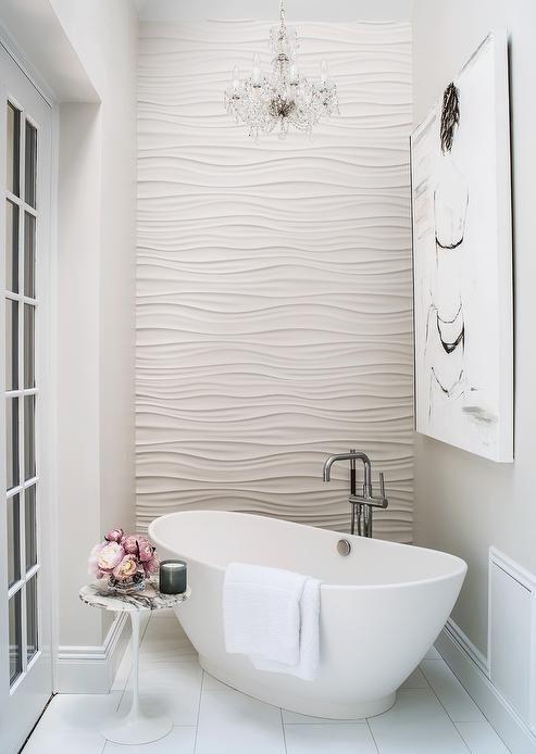 нестандартное расположение ванны  источник