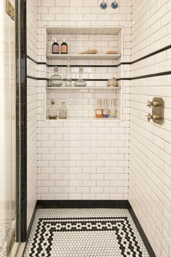 ниша в стене в ванной  источник