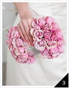букет невесты в виде клатча