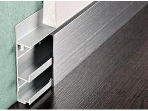 алюминиевый плинтус для гипсокартона