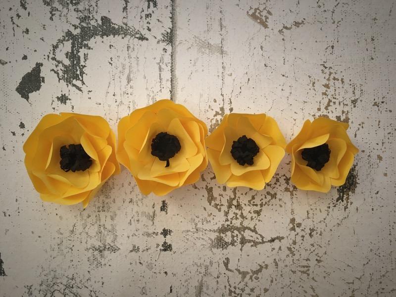 как сделать объемные цветы из бумаги своими руками