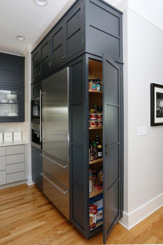 места для хранения на кухне