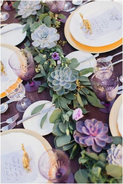 свадебные украшения стола, которые можно посадить  источник