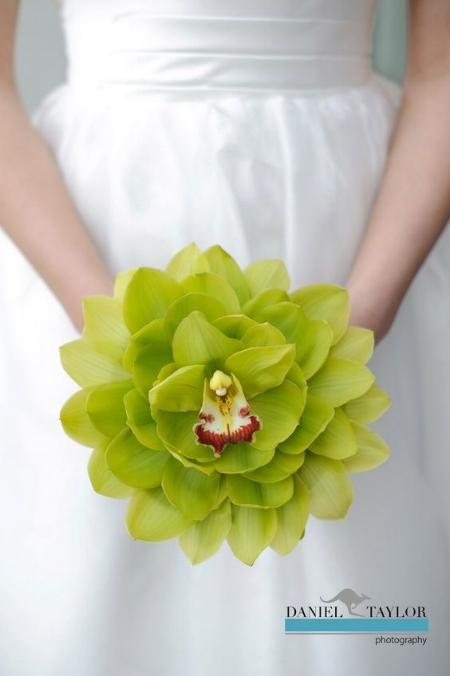 необычные свадебные букеты гламелия из орхидей