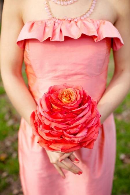 букет невесты гламелия омбре