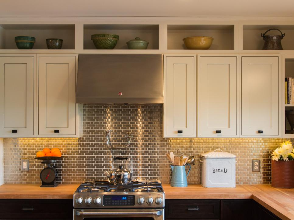 Место над кухонными шкафами -