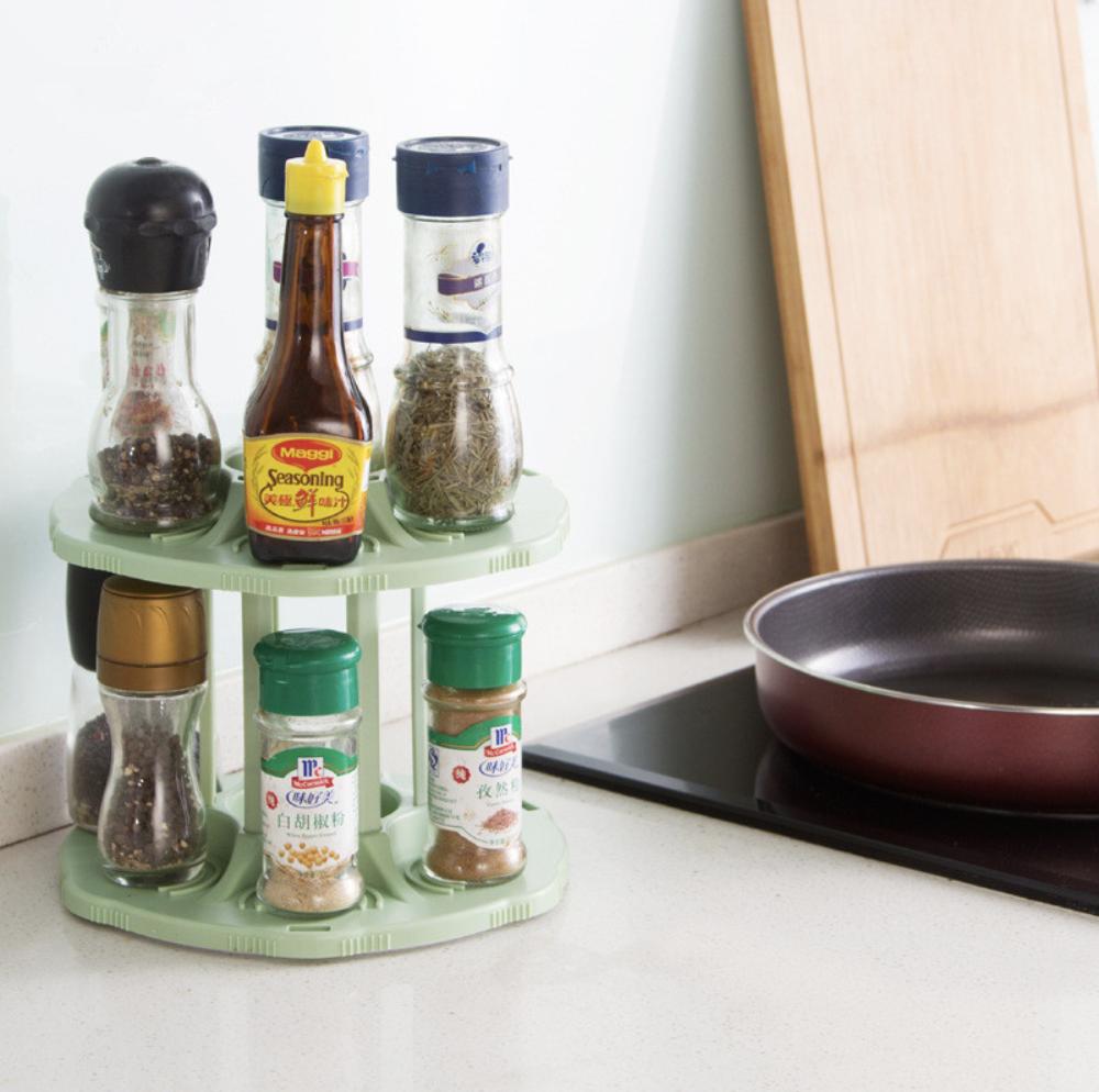кухня вращающаяся подставка для специй и банок