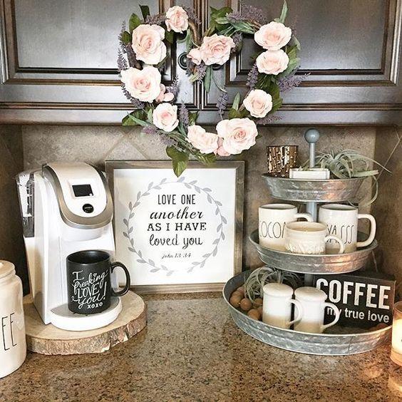 домашний кофейный бар  источник