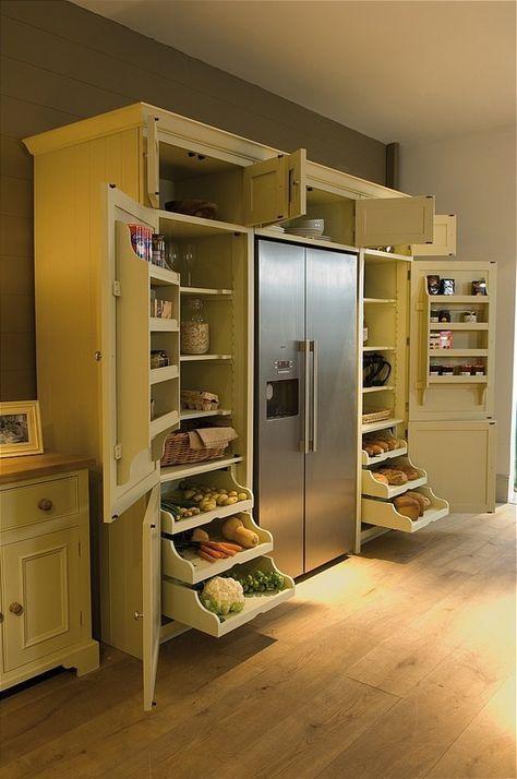 хранение продуктов на кухне  источник