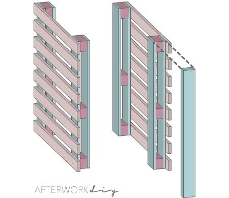 барная стойка ресепшн из поддонов своими руками фото чертежи размеры инструкция