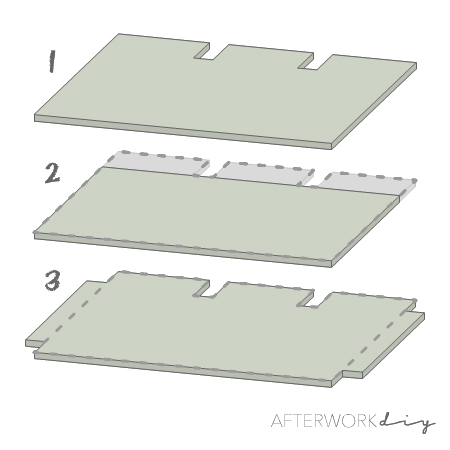варианты столешницы для стойки ресепшен из поддонов