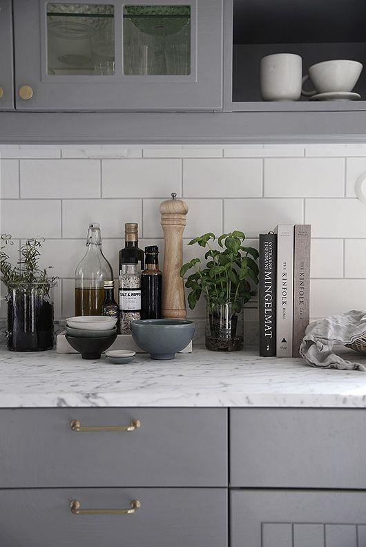 декорирование и организация пространства на кухне  источник