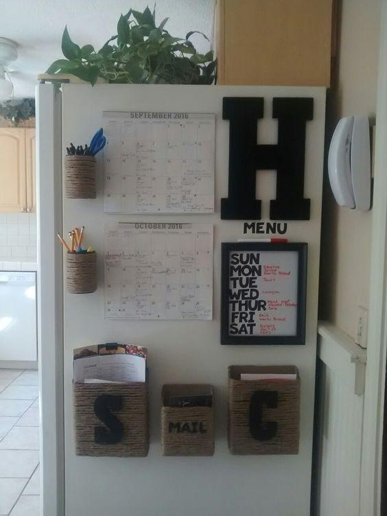 информационный центр на холодильнике  источник