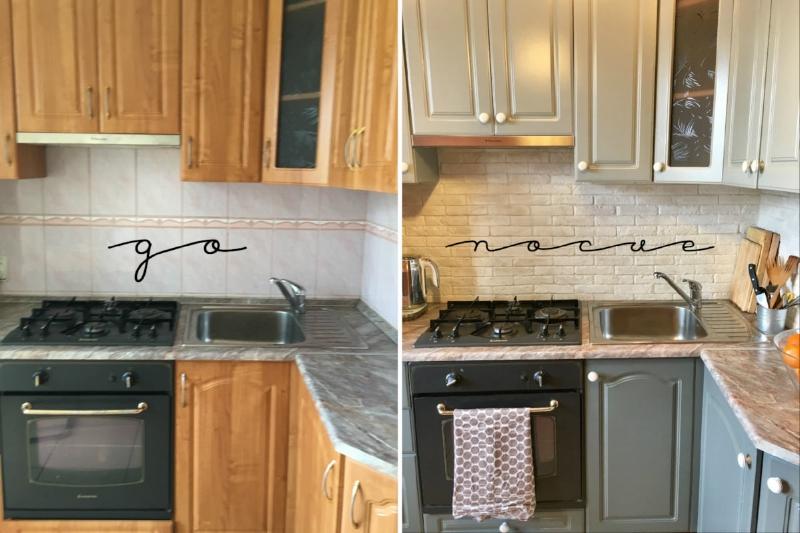 примеры бюджетного ремонта кухни своими руками фото