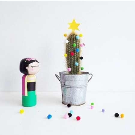 новогодний кактус  источник