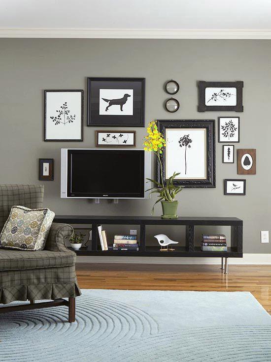 почему краска на стене отличается от образца в магазине? www.bhg.com