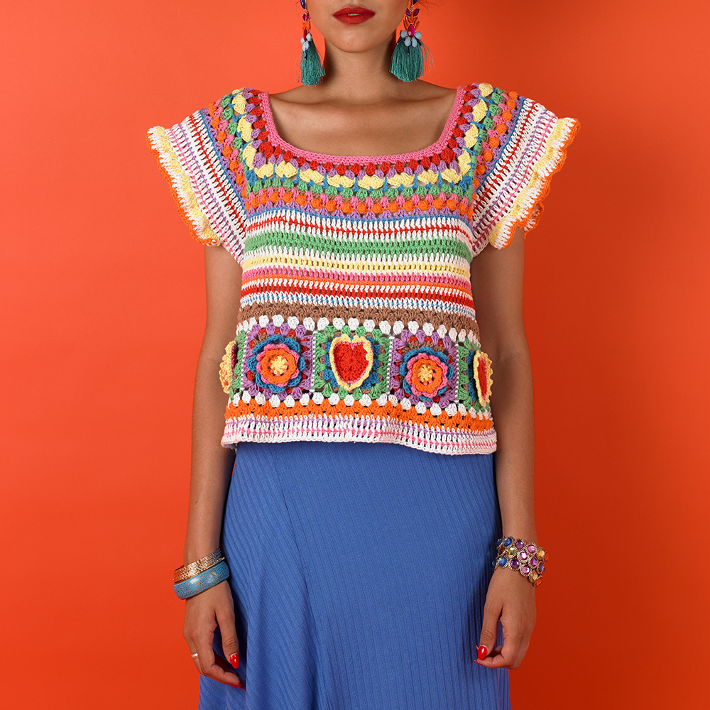 KAHLO CROP TOP - KAHLO COLLECTION