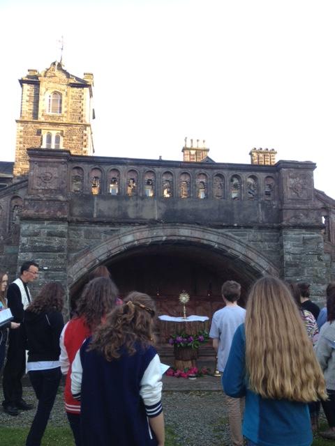 Adoring the Lord, Corpus Christi procession