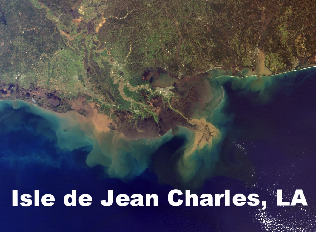 Isle de Jean Charles, 80 miles from New Orleans, has what many sinking towns around the U.S. would love: money to relocate. But even now that over half of the families have moved, many of those remaining are reluctant to leave, having put roots in the land over generations. With a September 2022 deadline to spend the $48 million, these residents will have to make a choice soon.