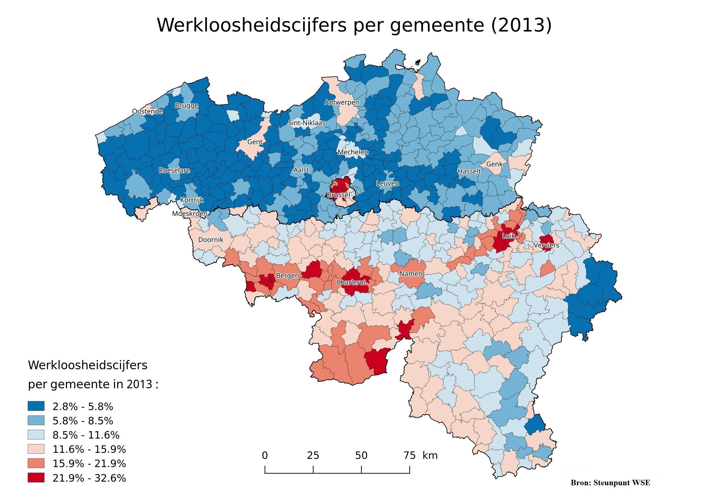 Werkloosheidscijfers_per_gemeente_2013