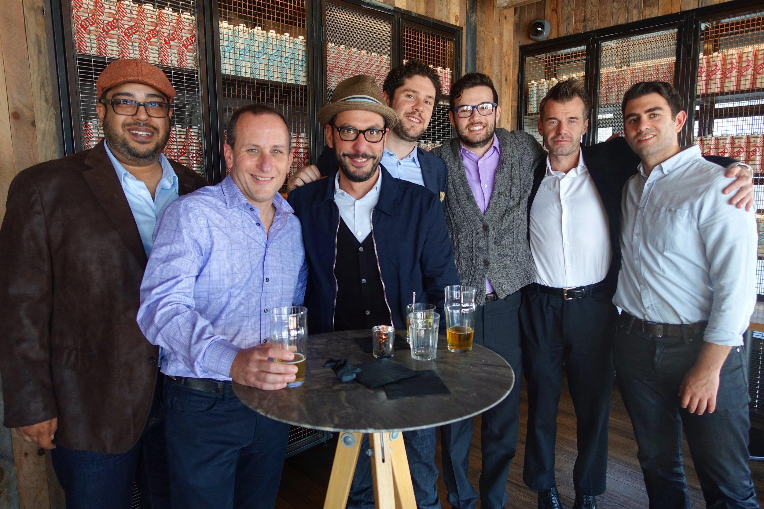 Kapil, Daniel G, Rob, Matt B, Jake, Attila & Daniel C