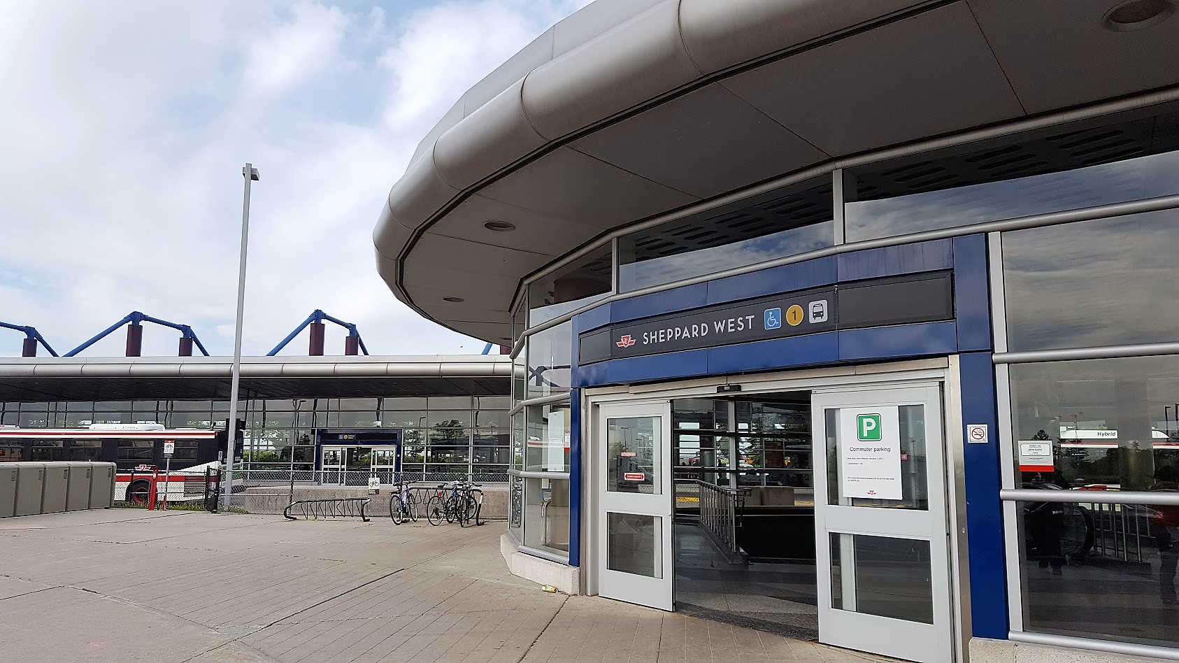 Sheppard West Station, formerly Downsview